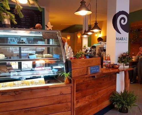 Das vegane Café in Lübeck: Marae in der Engelsgrube 59
